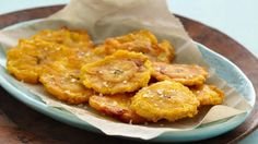 Enjoy these crispy plantain slices that are ready in just 15 minutes – a perfect Latin American side dish.