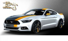 This fashionably redesigned 2015 Ford Mustang EcoBoost by Bojix Design is headed to the SEMA aftermarket show in November. Maserati, Bugatti, Lamborghini, Ferrari, Mustang Cabrio, 2015 Ford Mustang Ecoboost, 2015 Mustang, S550 Mustang, Mustang Club