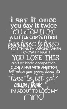 Competition // Little Mix