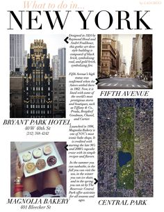 More things to do in NYC!