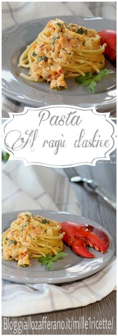Perfetti per il cenone di domani sera Italian Pasta, Scampi, Linguine, Recipe Collection, Pasta Recipes, Italian Recipes, Food Inspiration, Love Food, Food Photography