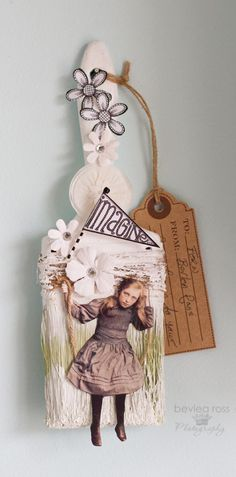 made for an altered paintbrush swap. collage image by PaperWhimsy