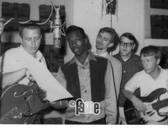 Jimmy Johnson, Wilson Pickett, Spooner Oldham, Roger Hawkins and Junior Lowe