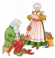 Mr. and Mrs. Claus by Jo Gershman