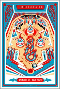 THE WHO  Nokia Theatre, LA • 11..8-9.09  Signed lithograph series of 100