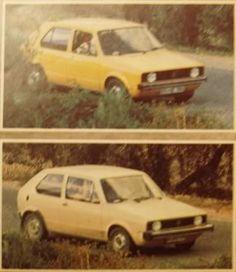 OG | 1974 Volkswagen / VW Golf Mk1 Three- and Five-door | Running prototypes
