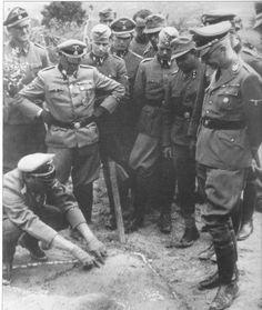 Himmler never became a military man
