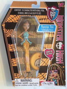 Monster High ballpoint ball point Pen cleo de Nile Cleopatra Mummy doll fashion