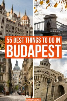 The Ultimate Guide to the Best Things to Do in Budapest: everything you need to go + tips on what to eat! #budapest #hungary #travel