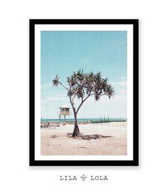 Strand Kunst Strand Dekor moderne Küsten-Dekor Strand von LILAxLOLA