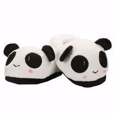 Autumn Winter Home Slipper Adult Unisex Panda Shoes Soft Plush Warm Animal House Slippers Lovely Cartoon Indoor Women Man Shoes