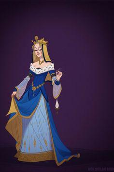 Esta artista recriou 7 personagens da Disney com figurinos de época