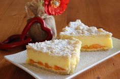 Sypaný koláč s pudinkem Y Food, Good Food, Food And Drink, Baking Cupcakes, Cupcake Cakes, Czech Recipes, Sweet Recipes, Cheesecake, Dessert Recipes