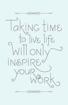 to achieve work/life balance
