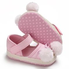 e802a2cc24ca Raise Young Spring Summer Canvas Baby Girl Princess Shoes Furball  Butterfly-knot Infant Girl First Walkers Toddler Crib Shoes