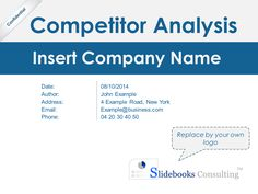 Example of competitor analysis