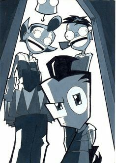 """Welcome home, Son""                    Invader Zim"