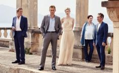 """AMC has released the first trailer for the six-part mini-series """"The Night Manager"""" starring Tom Hiddleston and Hugh Laurie. The series is an adaptation of the John le Carre espionage n… Hugh Laurie, Best Tv Shows, Favorite Tv Shows, Favorite Things, Sherlock, I Zombie, Tv Series 2016, Elizabeth Debicki, O Drama"""