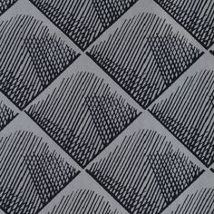 Quadratis noir fond ficelle - Collection SS/PE 2017 - Thevenon - Design by InkFabrik