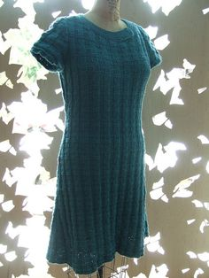 Ravelry: Project Gallery for #08 A-line Dress pattern by Mari Lynn Patrick
