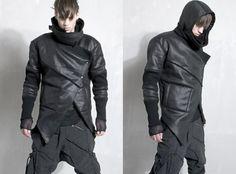 designer fashion demobaza aw12 männer lederjacke