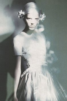 Freja Beha Erichsen In All That Shine By Photographer Paolo Roversi | Vogue Italia, Feb. 2007.