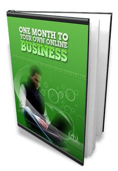 Pay for One Month To Your Own Online Business eBook of 0.5972 MB PDF File Start Your Very own  Online Internet Marketing Business  In Less Than One Month!  These strategies for setting up an internet marketing business quickly will have you up and running your own virtual money making.