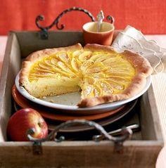 Apfel-Schmand-Wähe #cake #recipe