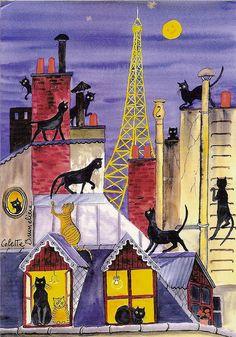 Paris by Colette Brunelière