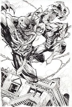 Spider-Man vs. Venom by Dexter Soy