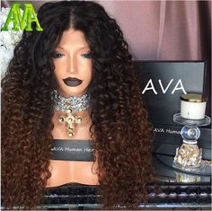 Change Your Look In Seconds With Human Hair Clip In Extensions Brazilian Lace Front Wigs, Curly Lace Front Wigs, Human Hair Lace Wigs, Remy Human Hair, Front Lace, Kinky Curly Clip Ins, Kinky Curly Wigs, Curly Hair, Ombre Wigs
