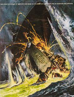 PT 109 - Cliff Robertson as 'John F. Kennedy' - Warner Bros. - Movie poster artwork by Frank McCarthy