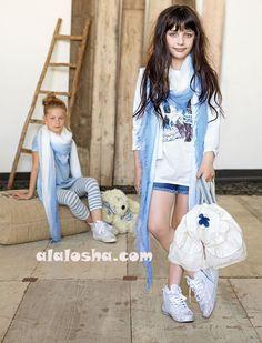 ALALOSHA: VOGUE ENFANTS: MISS GRAND SS'14 Girls Fashion