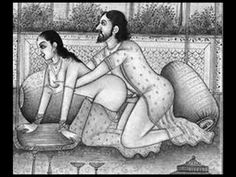 Ancient EROTIC Paintings of Mughal Love PAINTING/ OLD PAINTING 16TH CENT...