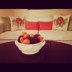 simple pottery barn decor for fall
