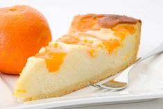 Käsekuchen mit Orange - Rezept