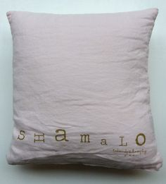 bedandphilosophy pellavatyyny shamalo (hattara) . 35x35cm