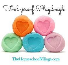 The Fool-Proof Playdough Recipe