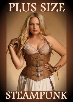 You go girls! Everyone needs to have fun. No matter the tag size. Arte Steampunk, Steampunk Corset, Steampunk Cosplay, Steampunk Clothing, Steampunk Fashion, Victorian Fashion, Emo Scene, Suicide Girls, Mode Plus