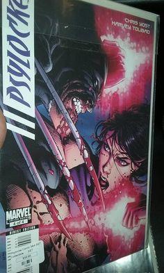 Marvel Psylocke # 3 and # 4 SET