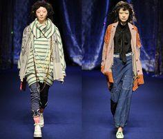 (1) Mercibeaucoup - Mercedes-Benz Fashion Week Tokyo: Japan Fashion Week: Denim & Jeanswear 2013-2014 Fall Winter Womens Runways I