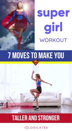 Exercises to Grow Taller, Improve Posture & Get Lean | PIIT28 Supergirl inspired workout! Learn how to get better posture with this full body workout inspired by Supergirl! Tap through for the full workout routine! How To Get Better, How To Grow Taller, Grow Taller Exercises, Better Posture, Improve Posture, Fat Burning Workout, Get In Shape, Excercise, Healthy Weight Loss