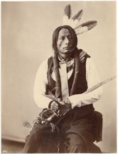 Chief Blackhorn, (Brulé Sioux) 1872