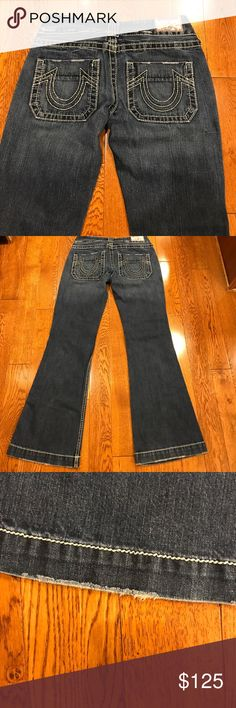 True Religion Urban Cowboy Jeans ❤️RARE❤️ These are in mint condition. They do not make these anymore and are HTF!!!!  Inseam 32. True Religion Jeans Boot Cut