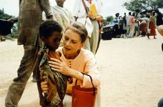When the tanks came in and the country was liberated, United Nations Relief and Rehabilitation Administration trucks followed. Hepburn said in an interview that she ate an entire can of condensed milk and then got sick from one of her first relief meals because she put too much sugar in her oatmeal. This experience is what led her to become involved in UNICEF late in life.