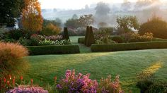 Photograph by renowned Clive Nichols a beautiful garden. Perfection so pristine it is hard to imagine it is R E A L.  #eye