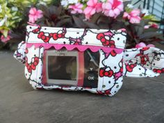 Insulin Pump Pouch - Hello Kitty Fabric
