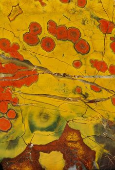 Poppy Jasper (closeup) by Wood's Stoneworks and Photo Factory, via Flickr