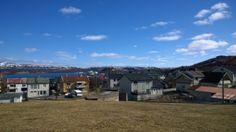 Norge, vad härligt! Så söt #Kirkenes #solenskiner