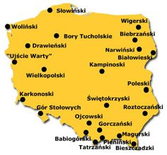 parki narodowe w Polsce